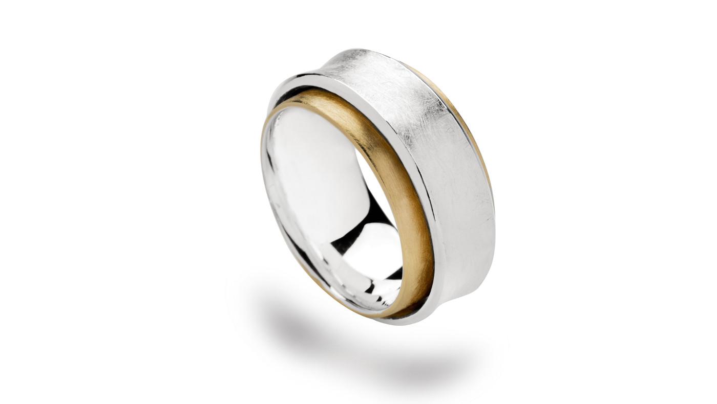 bastian bicolor ring